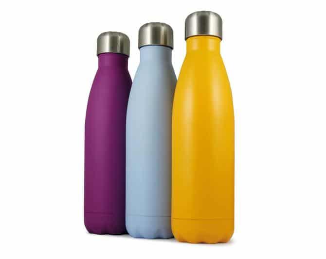 Edelstahlflasche als Werbegeschenk